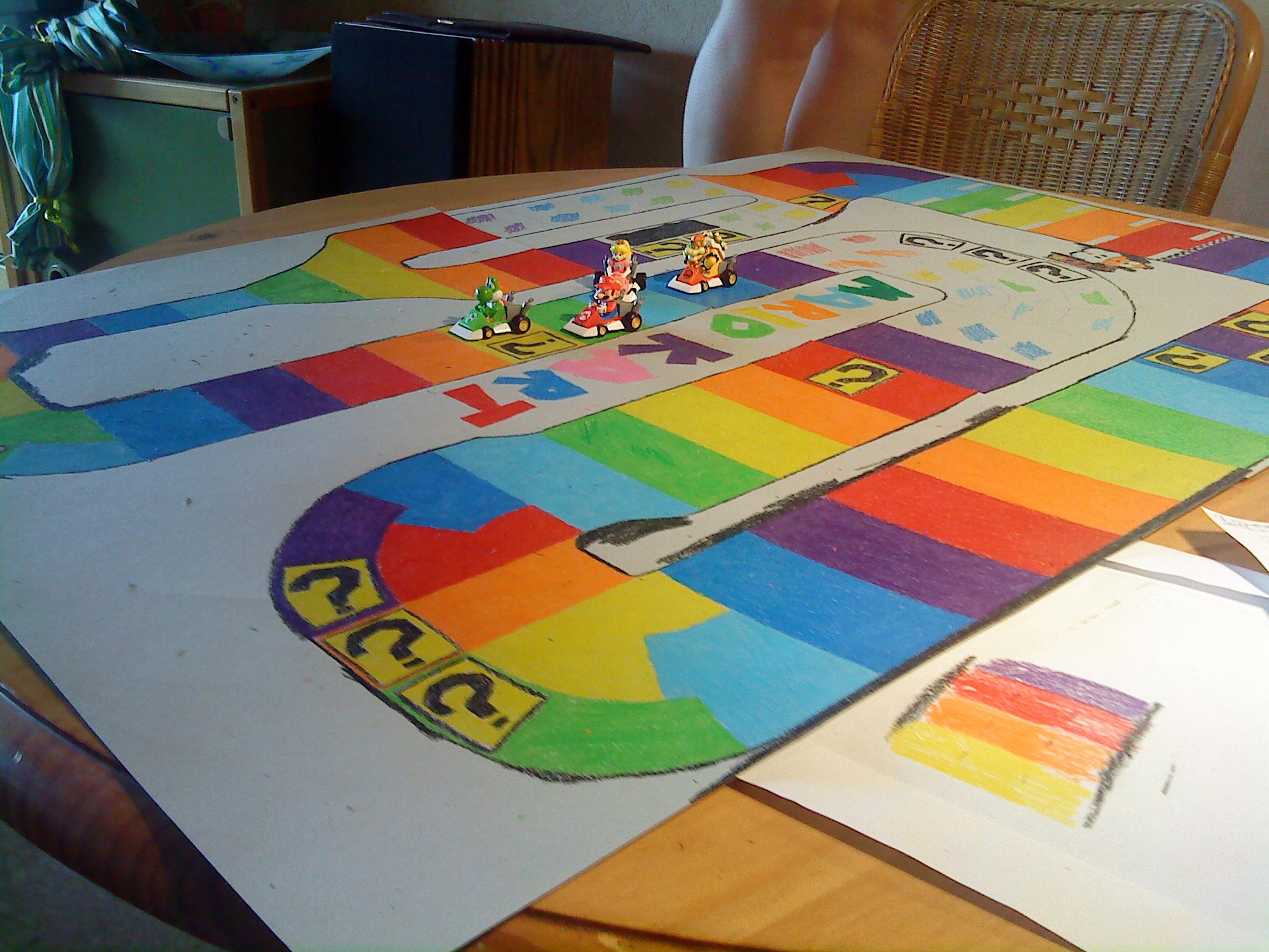 Super Mario Kart – Brettspiel (Boardgame) | KIRBYTHOUGTHS